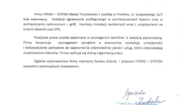 Referencje Bee Maciej Trzmielewski Pompy Ciepła Systemy Grzewcze